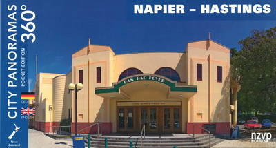 Napier - Hastings: City Panoramas 360 (Bilingual -- English/German)