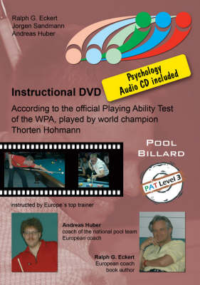 PAT Training: Based on the Official Playing Ability Test of the WPA, Played by World Champion Thorsten Hohmann: Level 3: For Expert Players