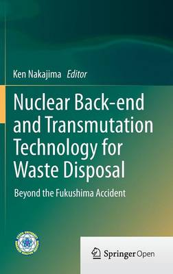 Nuclear Back-end and Transmutation Technology for Waste Disposal: Beyond the Fukushima Accident