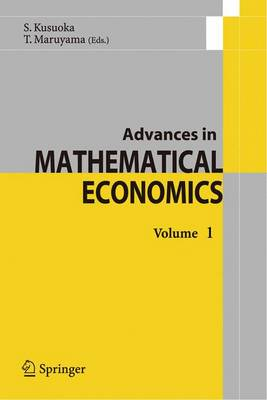 Advances in Mathematical Economics: 1