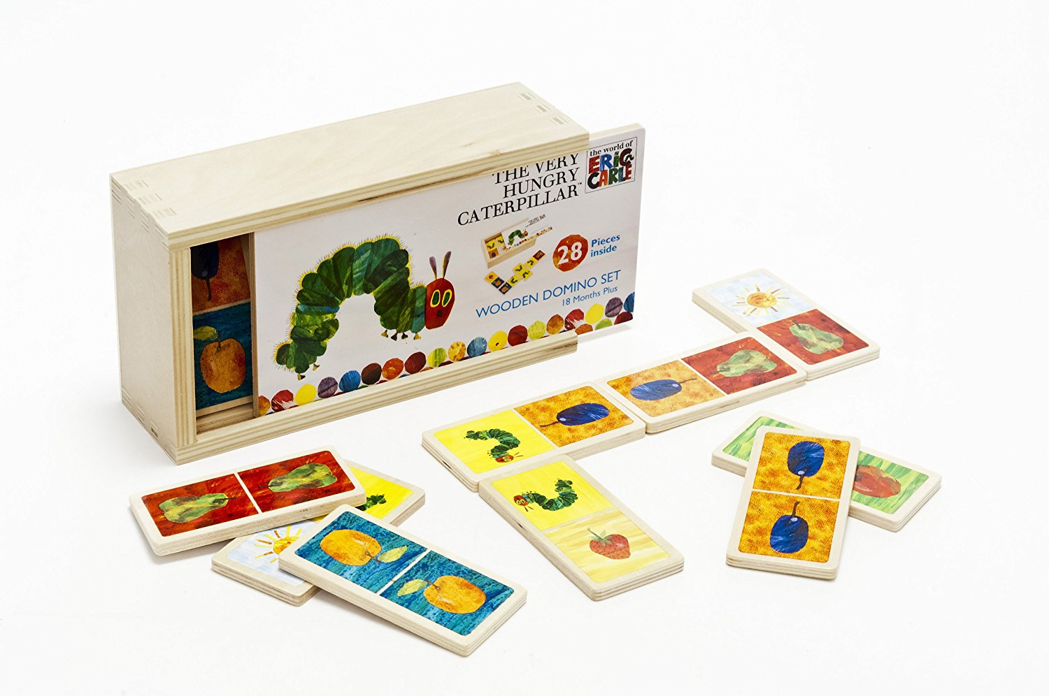 Eric Carle Wooden Dominoes