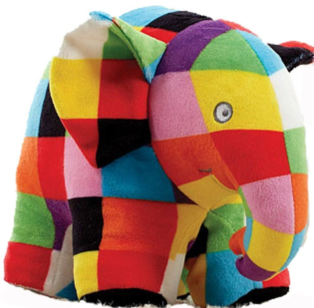 Small Elmer Soft Toy