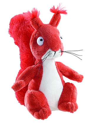 "Gruffalo Squirrel 7"" Plush Toy"
