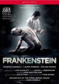 Liebermann Frankenstein Royal Ballet DVD