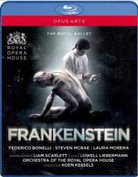 Liebermann Frankenstein Royal Ballet Bluray
