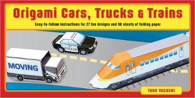 Origami Cars, Trucks, and Trains