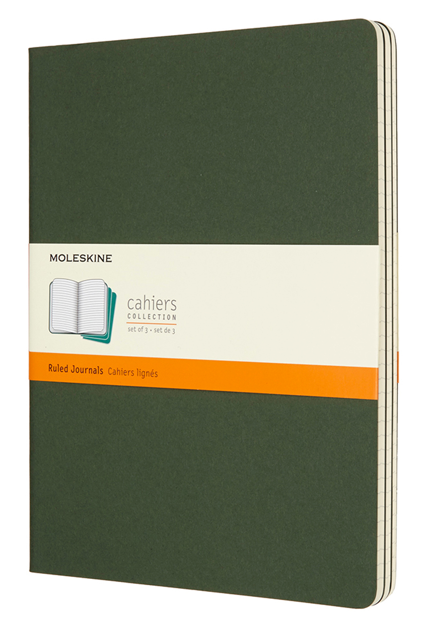 Cahier Extra Large Ruled Myrtle Green Notebook