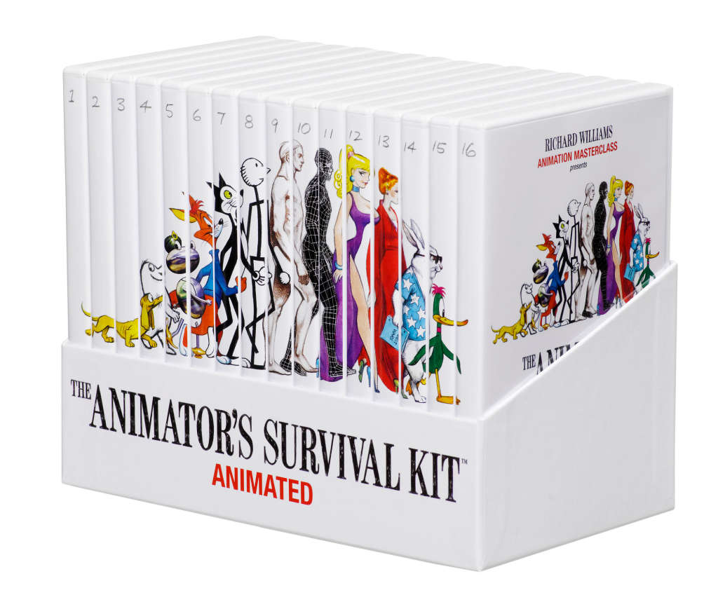 Animators Survival Kit  - Animated DVD Box Set 16 volumes