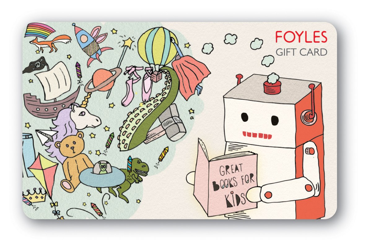 Gift Card 50 GBP Foyles Kids