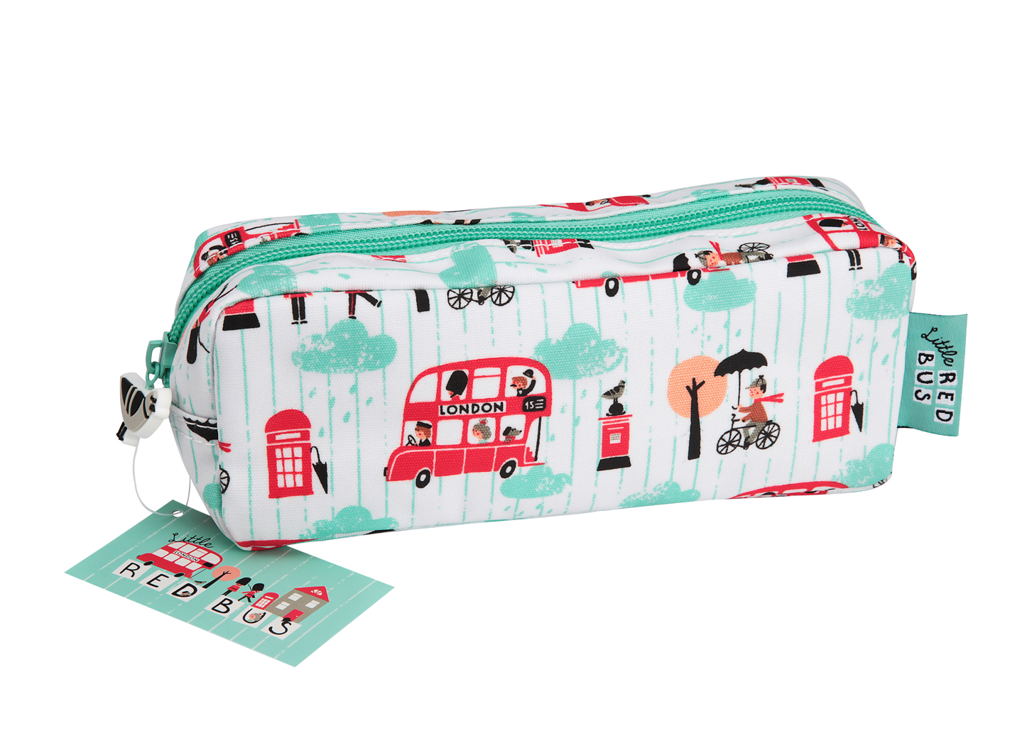 Little Red Bus Pencil Case