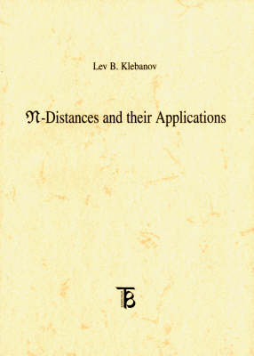 N-distances and Their Applications