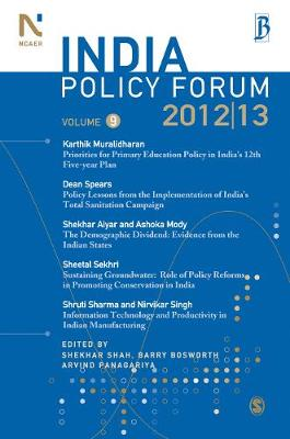 India Policy Forum 2012-13: Volume 9