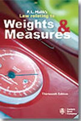 P.L. Malik's Law Relating to Weights and Measures