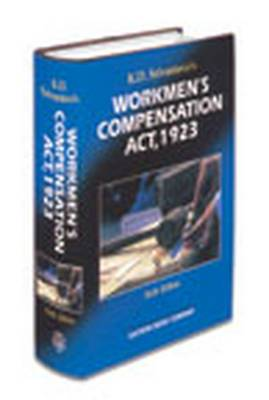 K.D. Srivastava's Commentaries on Workmen's Compensation Act, 1923: with Supplement