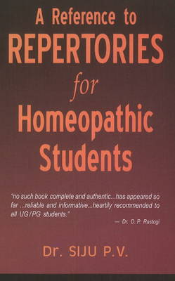 A Reference to Repertories for Homeopathic Students