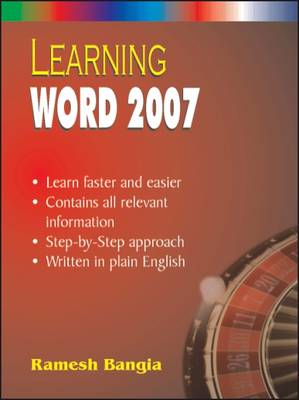 Learning Ms Word 2007