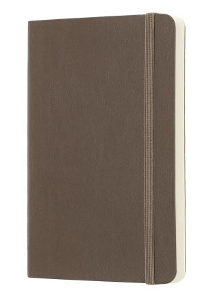 Earth Brown Pocket Plain Notebook