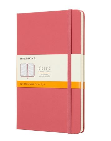 Daisy Pink Large Ruled Notebook