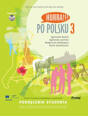 Hurra po polsku - Level 3. (B1) - Textbook with CD