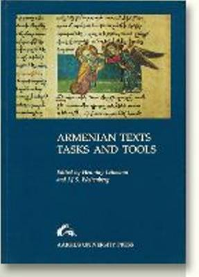 Armenian Texts Tasks & Tools