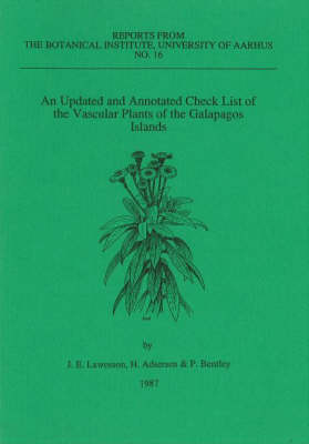 An Updated and Annotated Check List of the Vascular Plants of the Galapagos Islands