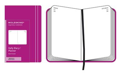 Moleskine Extra Small Daily Planner Hard 12 Month: 2011