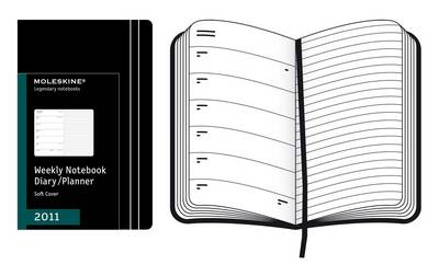 Moleskine Extra Large Weekly Notebook 12 Months Soft: 2011