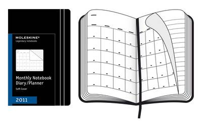 Moleskine Large Monthly Notebook 12 Month Soft: 2011