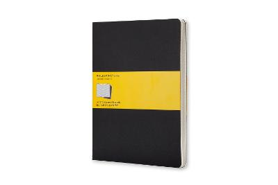 Cahier Extra Large Squared Black Notebook