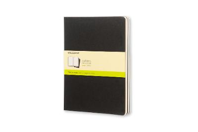 Cahier Extra Large Plain Black Notebook