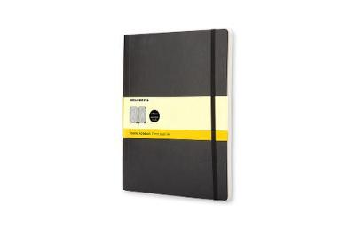 Classic Black Extra Large Squared Soft Notebook
