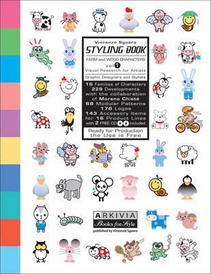 Styling Book: Farm and Wood Characters: Vol. 1