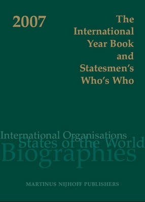 The International Year Book and Statesmen's Who's Who 2007