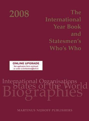 The International Year Book and Statesmen's Who's Who 2008