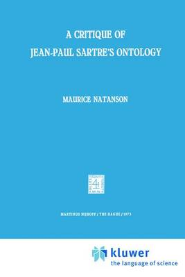 A Critique of Jean-Paul Sartre's Ontology