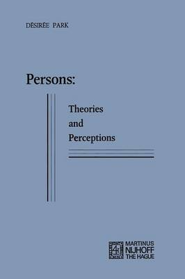 Persons: Theories and Perceptions