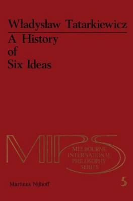 A History of Six Ideas: Essay in Aesthetics