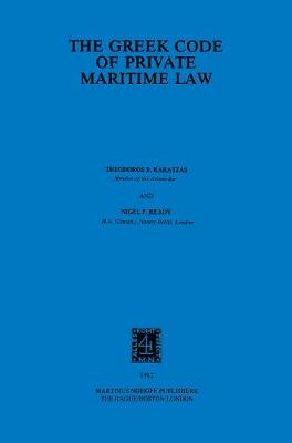The Greek Code of Private Maritime Law