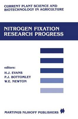 Nitrogen fixation research progress: Proceedings of the 6th international symposium on Nitrogen Fixation, Corvallis, OR 97331, August 4-10, 1985