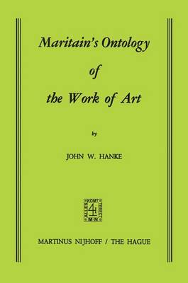 Maritain's Ontology of the Work of Art