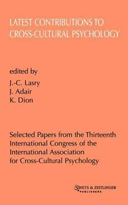 Key Issues in Cross-Cultural Psychology: Selected Papers from theTwelfth International Conference of the International Association for Cross-Cultural Psychology, Held in Pamplona, Navarro, Spain, July 24-27, 1994