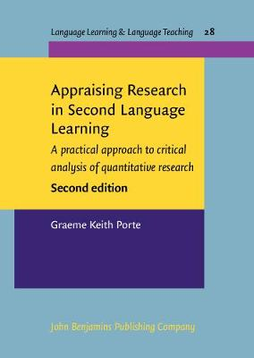 Appraising Research in Second Language Learning: A practical approach to critical analysis of quantitative research. <strong></strong>