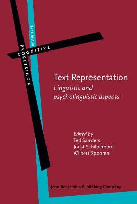 Text Representation: Linguistic and psycholinguistic aspects