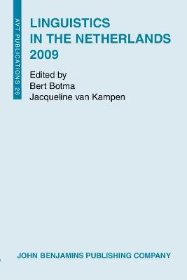 Linguistics in the Netherlands 2009