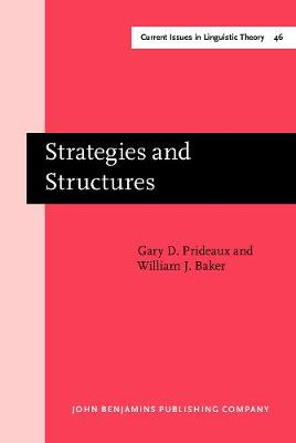 Strategies and Structures: The processing of relative clauses