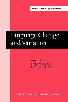 Language Change and Variation