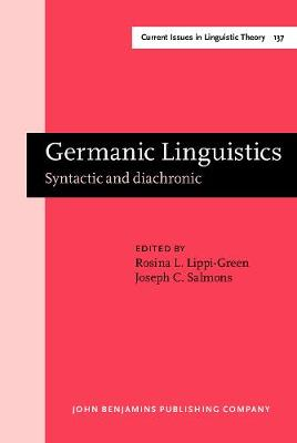Germanic Linguistics: Syntactic and diachronic