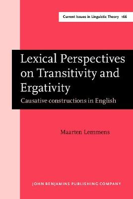 Lexical Perspectives on Transitivity and Ergativity: Causative constructions in English