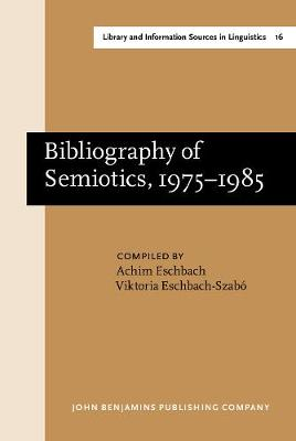 Bibliography of Semiotics, 1975-1985