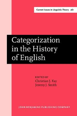 Categorization in the History of English